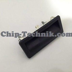 Drucktaster für elektrische Klappenschlossbetaetigung Teilenummer: 5N0827566T