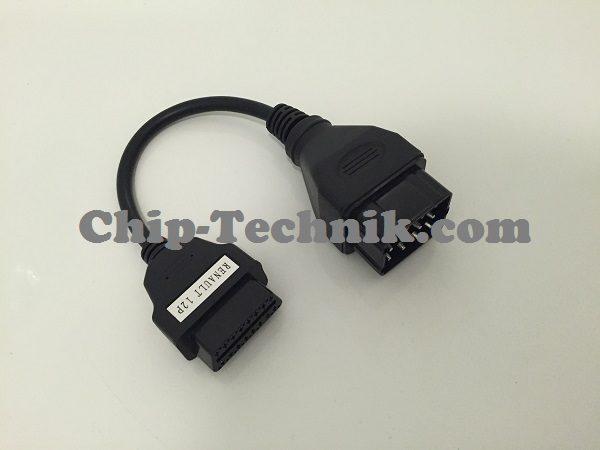 OBD2 16 PIN Anschlussdiagnoseadapter für Renault mit 12 PIN