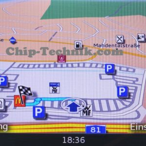 Zusätzliche POIs & Blitzer für Audi A3 V8