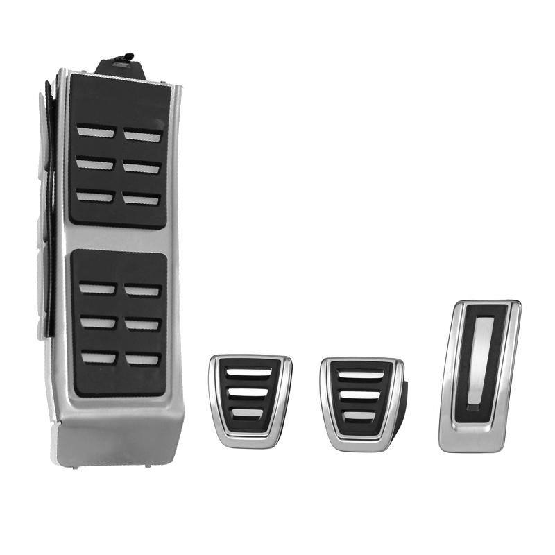 DSG Sport Pedale FIT Für Audi A4L A6L A7 A8 S4 RS4, A5 S5 RS5 8 T, Q5 SQ5 8R Kraftstoff Brems Fußstütze Pedal Abdeckung Auto Zubehör